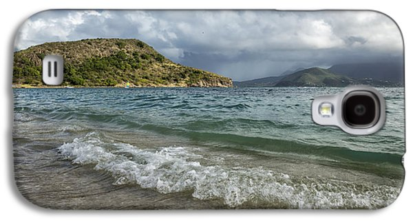 Beach At St. Kitts Galaxy S4 Case