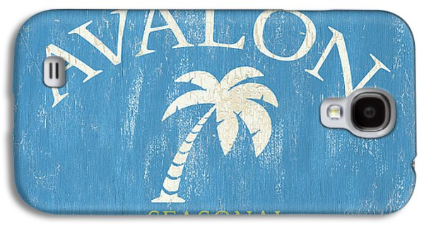 Beach Badge Avalon Galaxy S4 Case