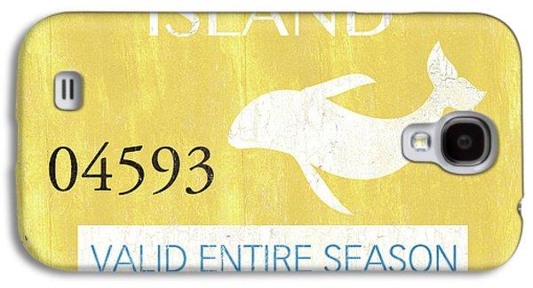 Beach Badge Long Beach Island 2 Galaxy S4 Case by Debbie DeWitt