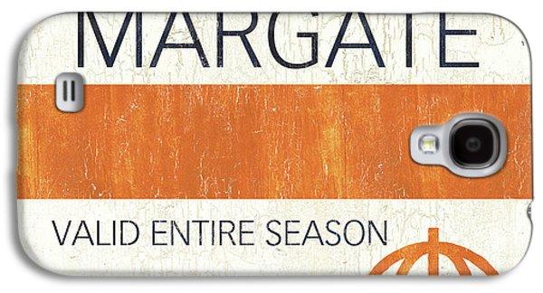 Beach Badge Margate Galaxy S4 Case