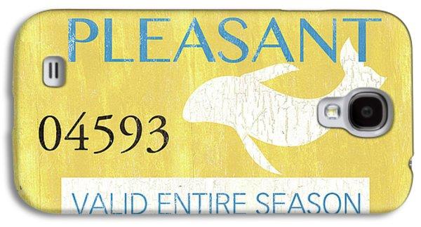 Beach Badge Point Pleasant Galaxy S4 Case