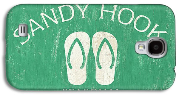 Beach Badge Sandy Hook Galaxy S4 Case