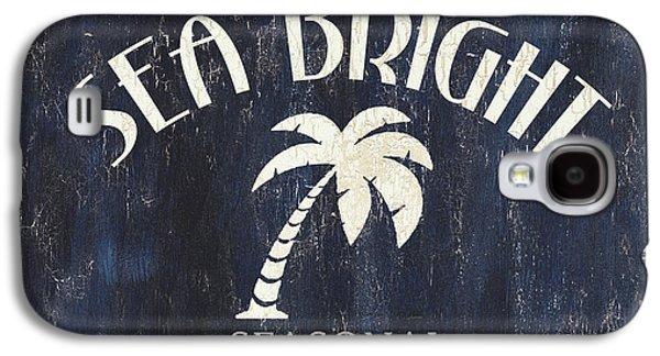 Beach Badge Sea Bright Galaxy S4 Case by Debbie DeWitt