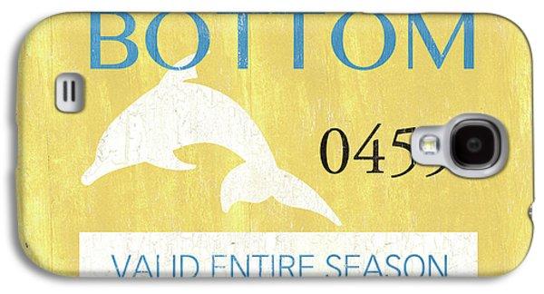 Beach Badge Ship Bottom Galaxy S4 Case by Debbie DeWitt