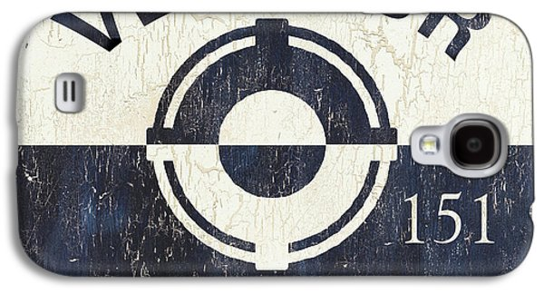 Beach Badge Ventnor Galaxy S4 Case by Debbie DeWitt