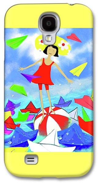 Balance Galaxy S4 Case by Flower Water Heaven