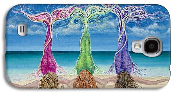 Beach Bliss Buddies Galaxy S4 Case by Angel Fritz