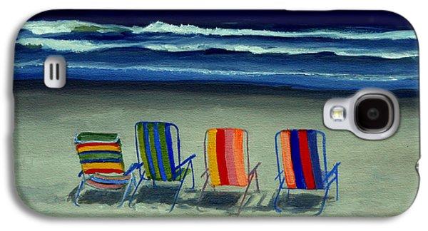Beach Chairs Galaxy S4 Case