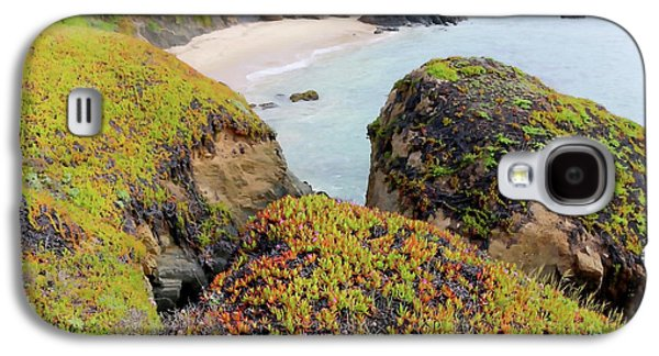Beach Coves At Pigeon Point Galaxy S4 Case