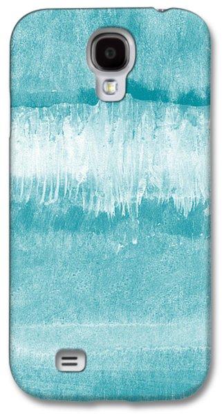 Beach Day Blue- Art By Linda Woods Galaxy S4 Case