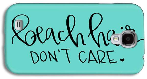 Beach Hair Galaxy S4 Case by Elizabeth Taylor