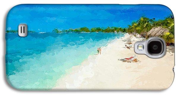 Beach Holiday  Galaxy S4 Case