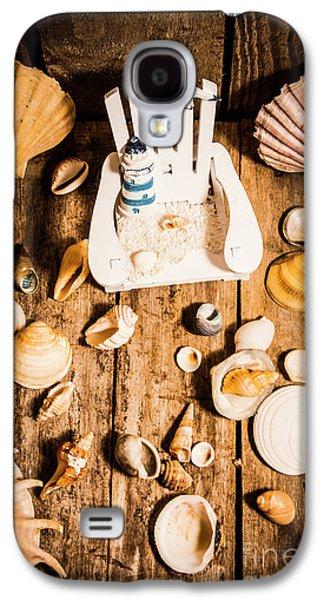 Beach House Artwork Galaxy S4 Case by Jorgo Photography - Wall Art Gallery