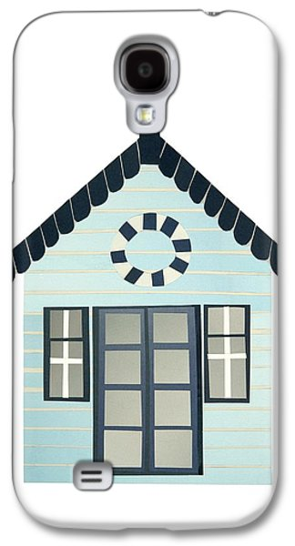 Beach Hut Galaxy S4 Case by Isobel Barber