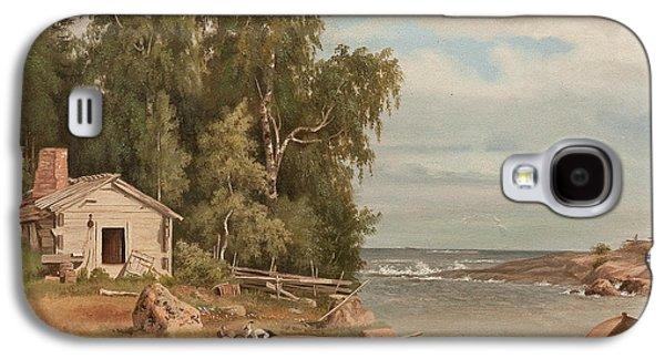 Beach Landscape From Lovo Galaxy S4 Case