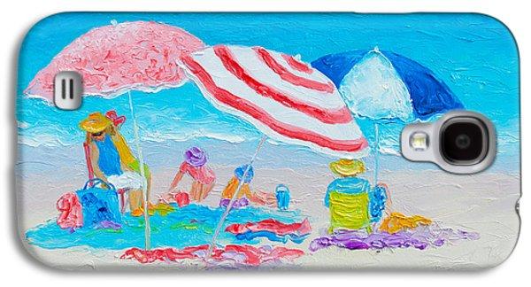 Beach Painting - Summer Beach Vacation Galaxy S4 Case