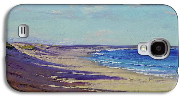 Impressionism Galaxy S4 Case - Beach Sand Shadows by Graham Gercken