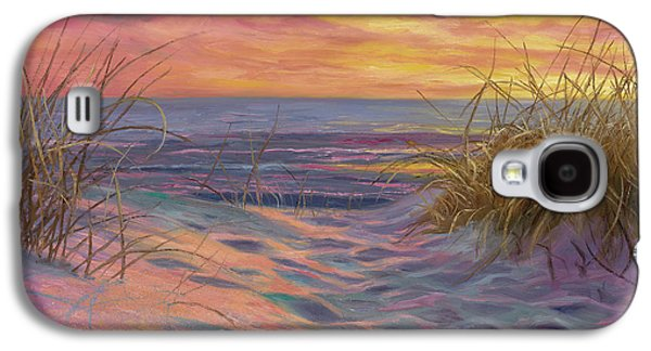 Beach Time Serenade Galaxy S4 Case by Lucie Bilodeau