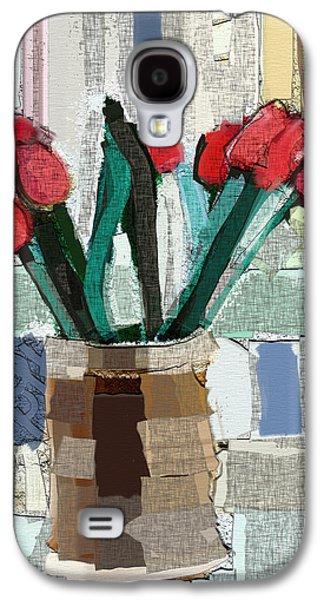 Beach Tulips Galaxy S4 Case