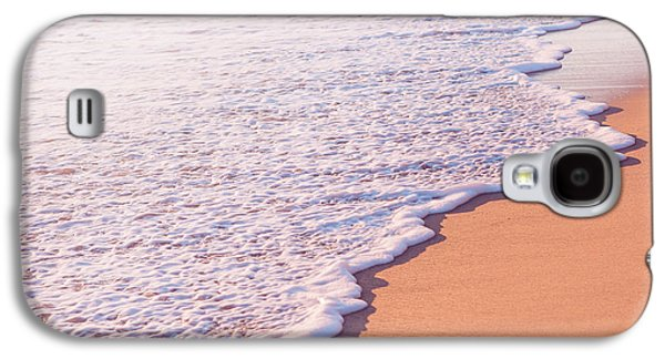 Beach Waves At Sunset  Galaxy S4 Case by Ariane Moshayedi