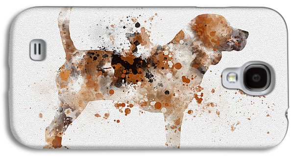 Beagle Galaxy S4 Case by Rebecca Jenkins