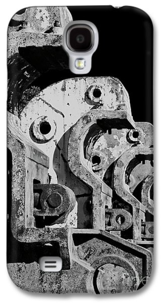 Galaxy S4 Case featuring the photograph Beam Bender - Bw by Werner Padarin