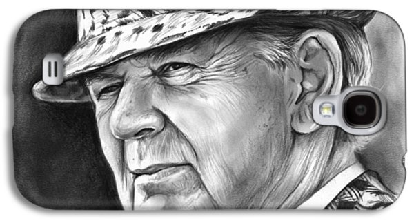 Bear Bryant Galaxy S4 Case by Greg Joens
