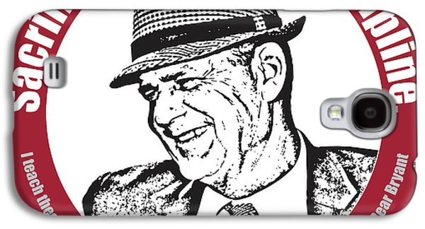 Bear Bryant Quote Galaxy S4 Case by Greg Joens
