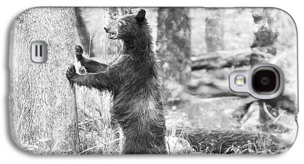 Bear Standing Galaxy S4 Case