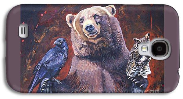 Bear The Arbitrator Galaxy S4 Case