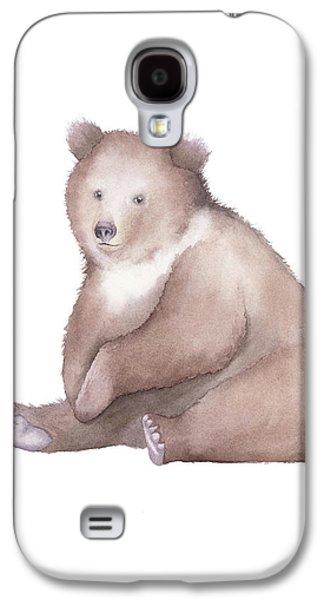 Bear Watercolor Galaxy S4 Case