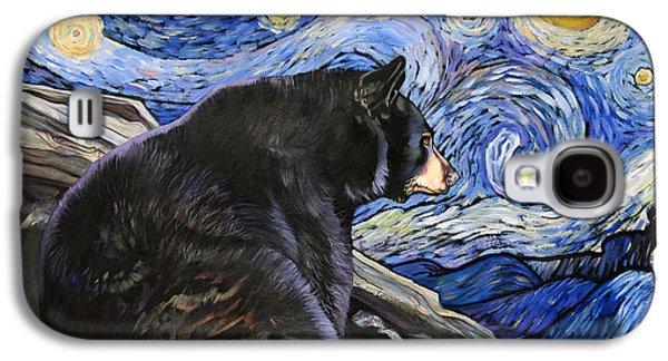 Beary Starry Nights Galaxy S4 Case