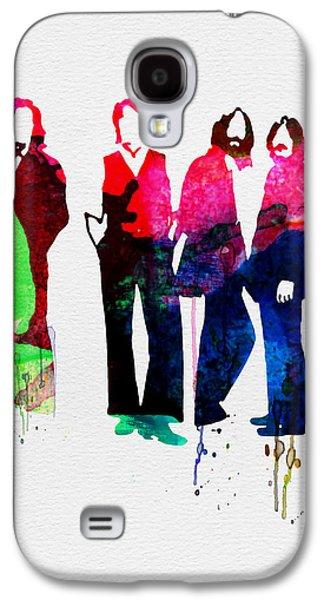 Musicians Galaxy S4 Case - Beatles Watercolor by Naxart Studio