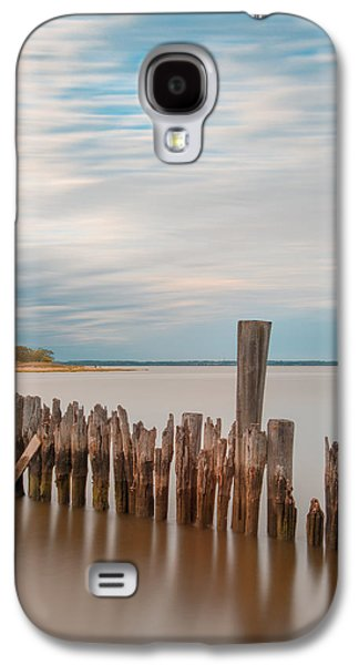 Beautiful Aging Pilings In Keyport Galaxy S4 Case