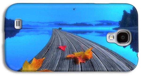 Beautiful Autumn Morning Galaxy S4 Case by Veikko Suikkanen
