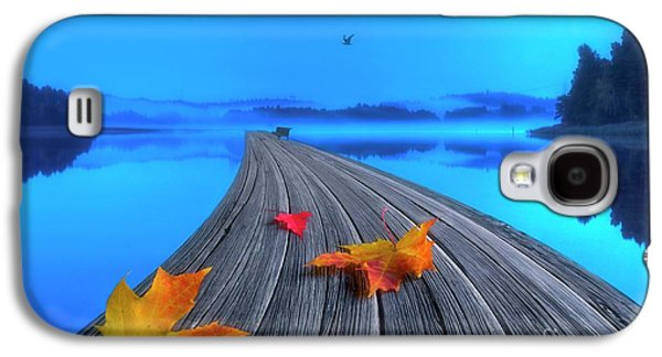 Beautiful Autumn Morning Galaxy S4 Case