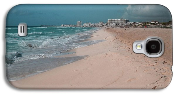 Galaxy S4 Case - Beautiful Beach In Cancun, Mexico by Nicolas Gabriel Gonzalez