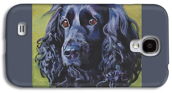 Beautiful Black English Cocker Spaniel Galaxy S4 Case by Lee Ann Shepard