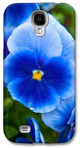 Beautiful Blues Galaxy S4 Case by Az Jackson