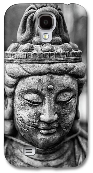 Beautiful Buddha Statue Portrait With Shallow Depth Of Field For Galaxy S4 Case by Matthew Gibson
