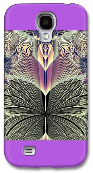 Beautiful Butterfly Ballet Fractal Galaxy S4 Case by Rose Santuci-Sofranko