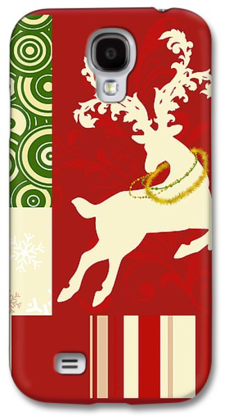 Modern Christmas II Modern Holiday Art Series Galaxy S4 Case