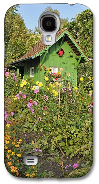 Beautiful Colorful Flower Garden Galaxy S4 Case by Matthias Hauser