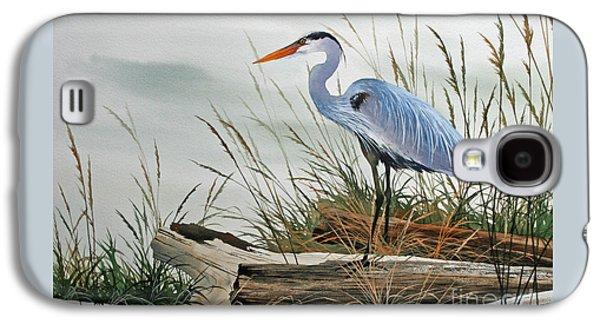 Beautiful Heron Shore Galaxy S4 Case