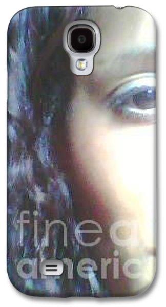 Robert Smith Music Galaxy S4 Case - Beautiful Lady by TSB Art Gallery Dennis Thompson Jr Curator Photographer