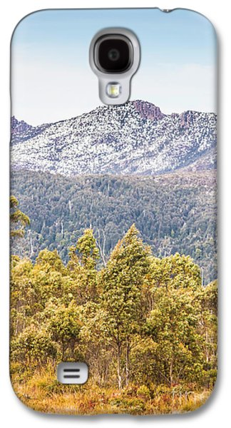 Beautiful Landscape With Partly Snowed Mountain  Galaxy S4 Case