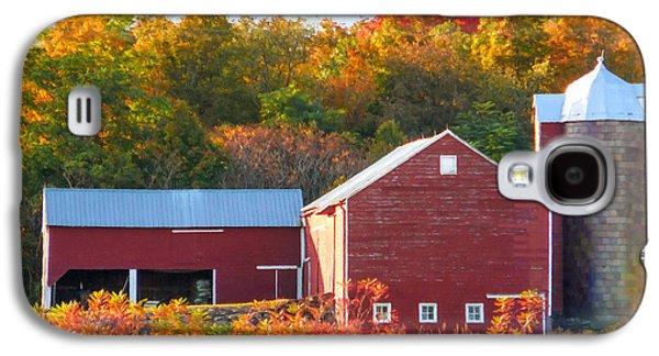 Beautiful Red Barn 2 Galaxy S4 Case