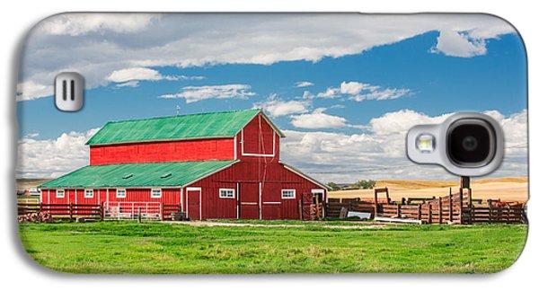 Beautiful Red Barn Galaxy S4 Case by Todd Klassy