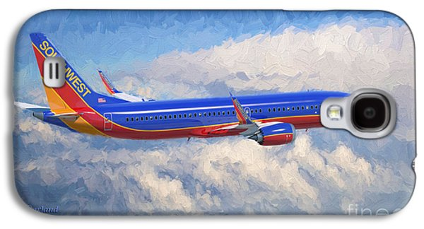 Airplane Galaxy S4 Case - Beauty In Flight by Garland Johnson