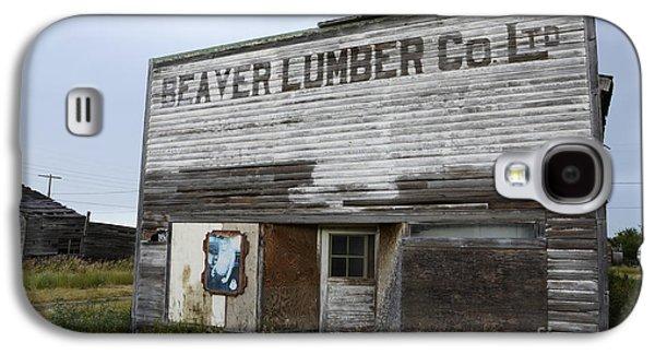 Beaver Lumber Company Ltd Robsart Galaxy S4 Case by Bob Christopher